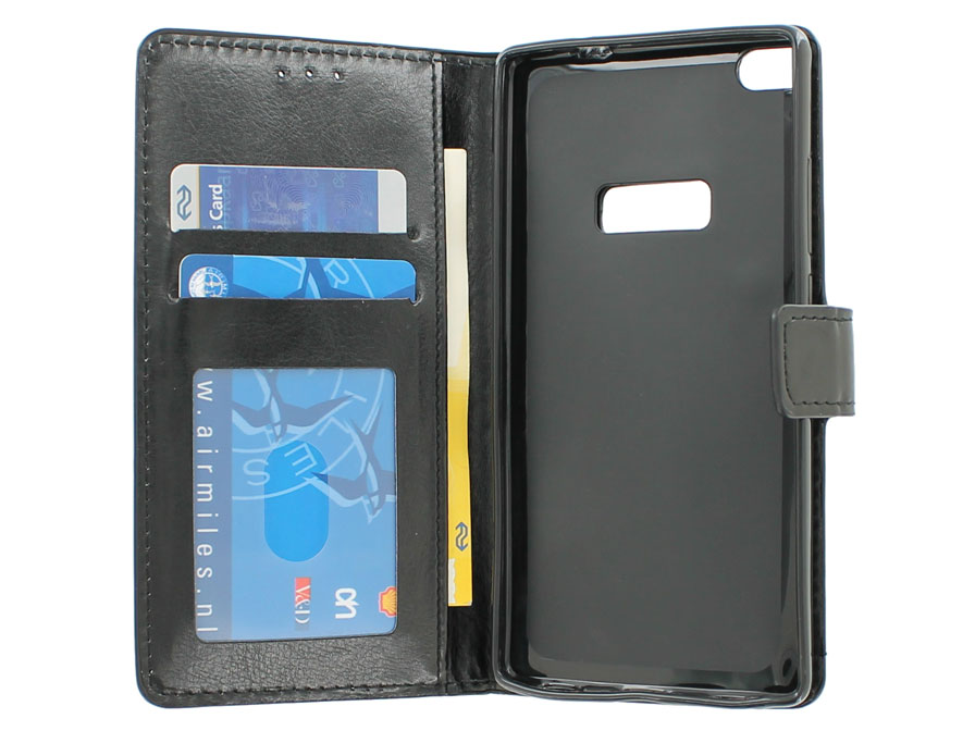 Wallet Book Case Hoesje voor Huawei Ascend P8