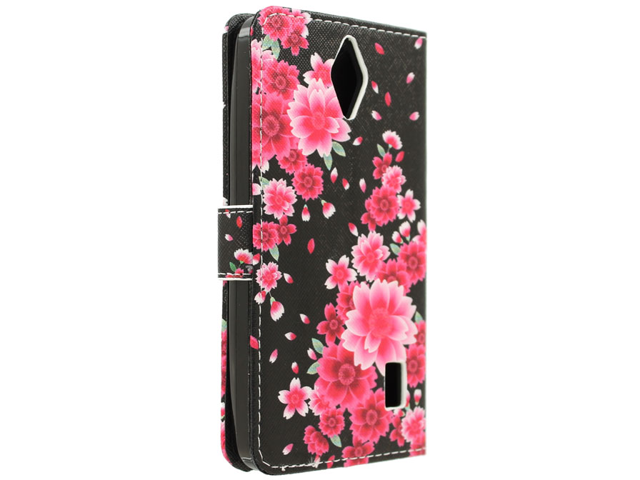 Huawei Ascend Y635 Hoesje - Lily Flower Book Case