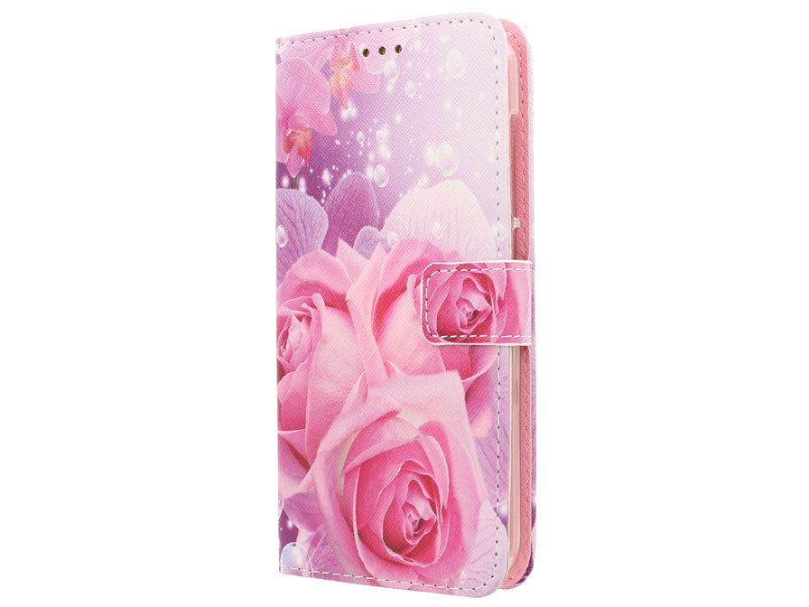 Huawei Ascend Y635 Hoesje - Rose Book Case
