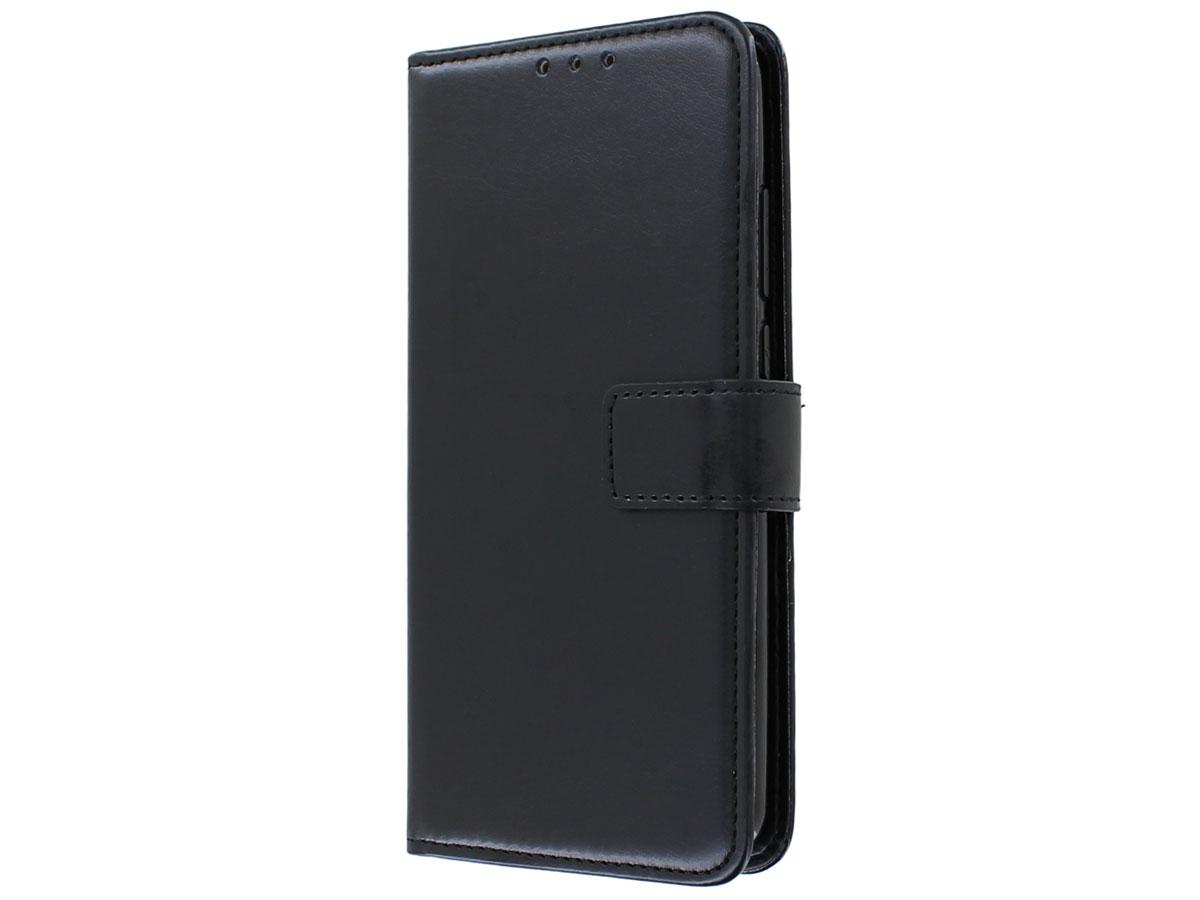 Bookcase Mapje Zwart - Huawei P Smart 2020 hoesje