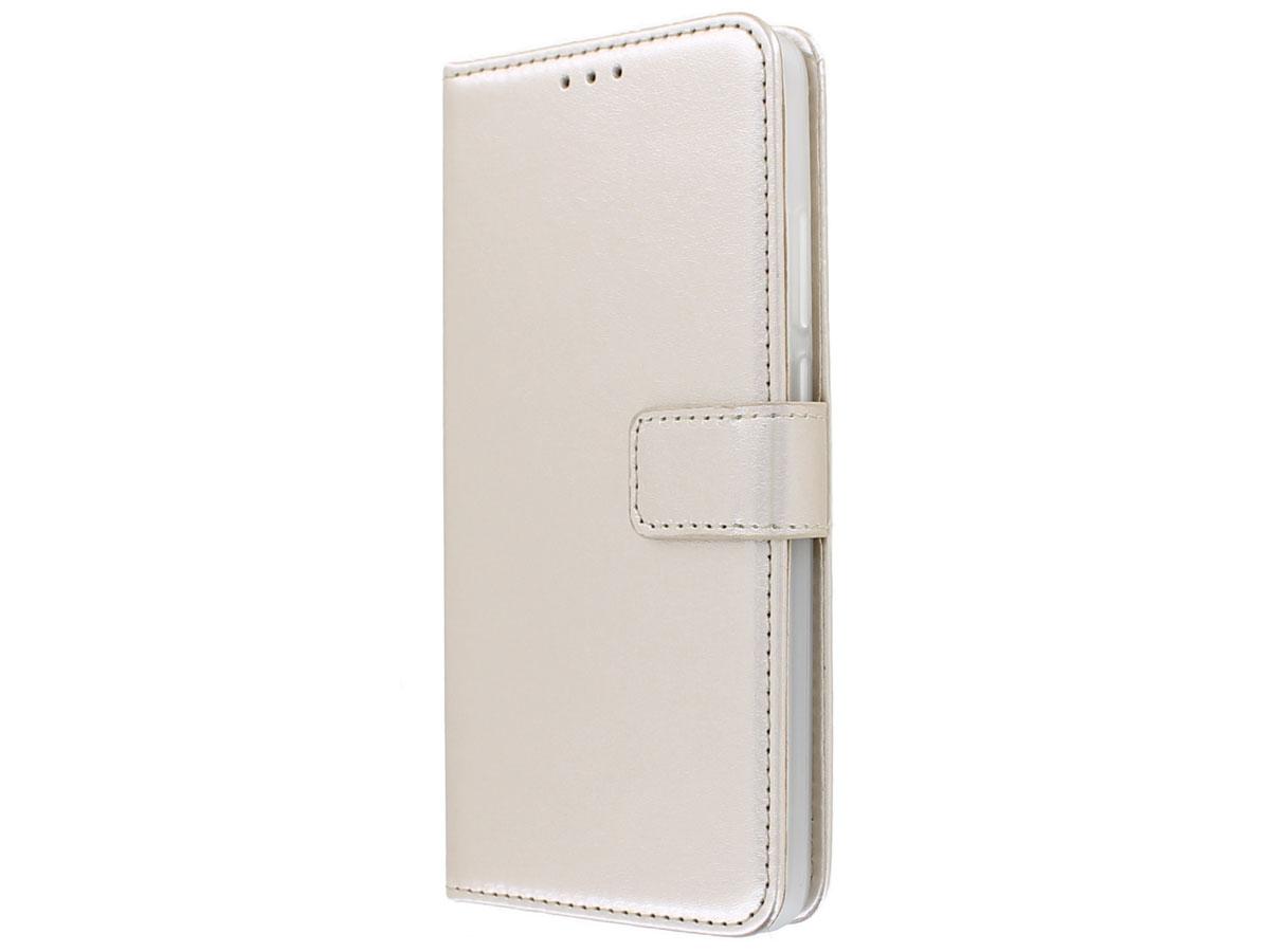 Bookcase Mapje Goud - Huawei P40 hoesje