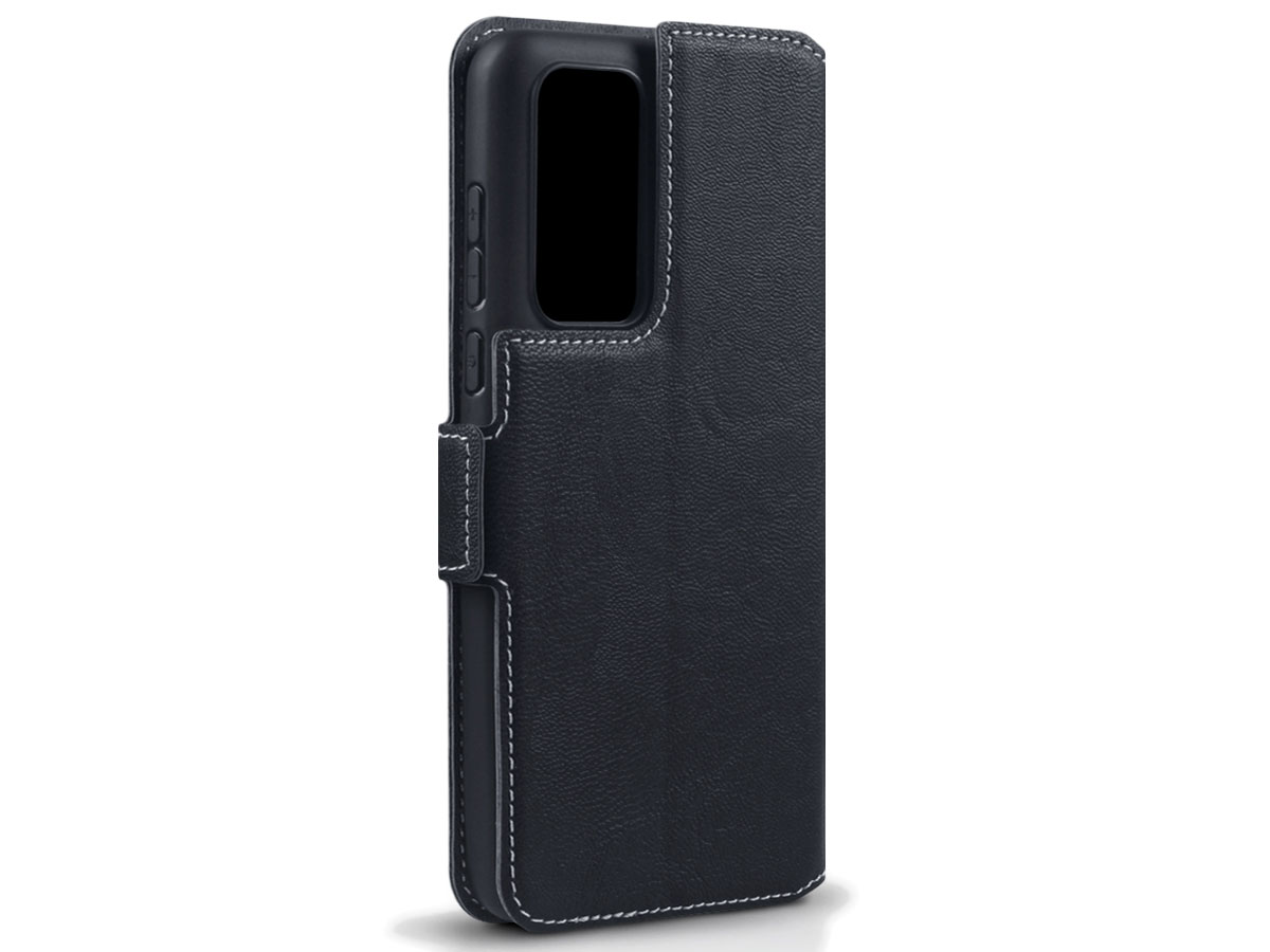 CaseBoutique Slim Book Case Zwart - Huawei P40 hoesje