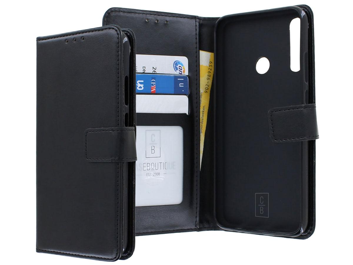 Bookcase Mapje Zwart - Huawei P40 Lite E hoesje