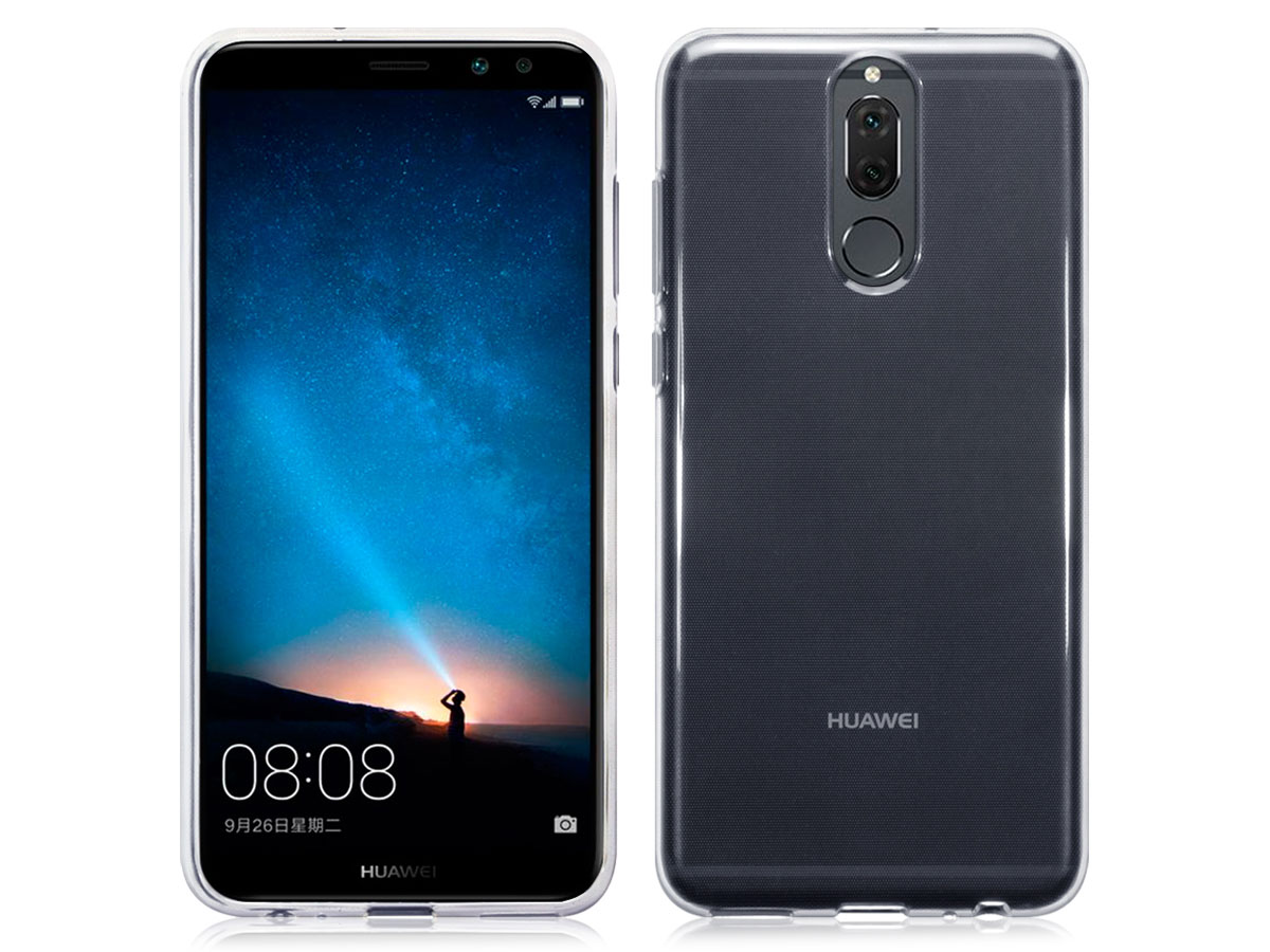 Transparant Huawei Mate 10 Lite hoesje - Crystal Case