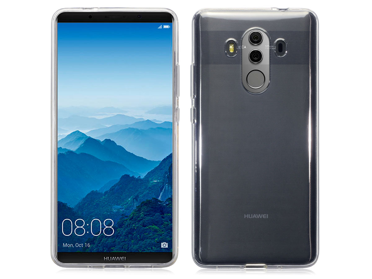 Transparant Huawei Mate 10 Pro hoesje - Crystal Case