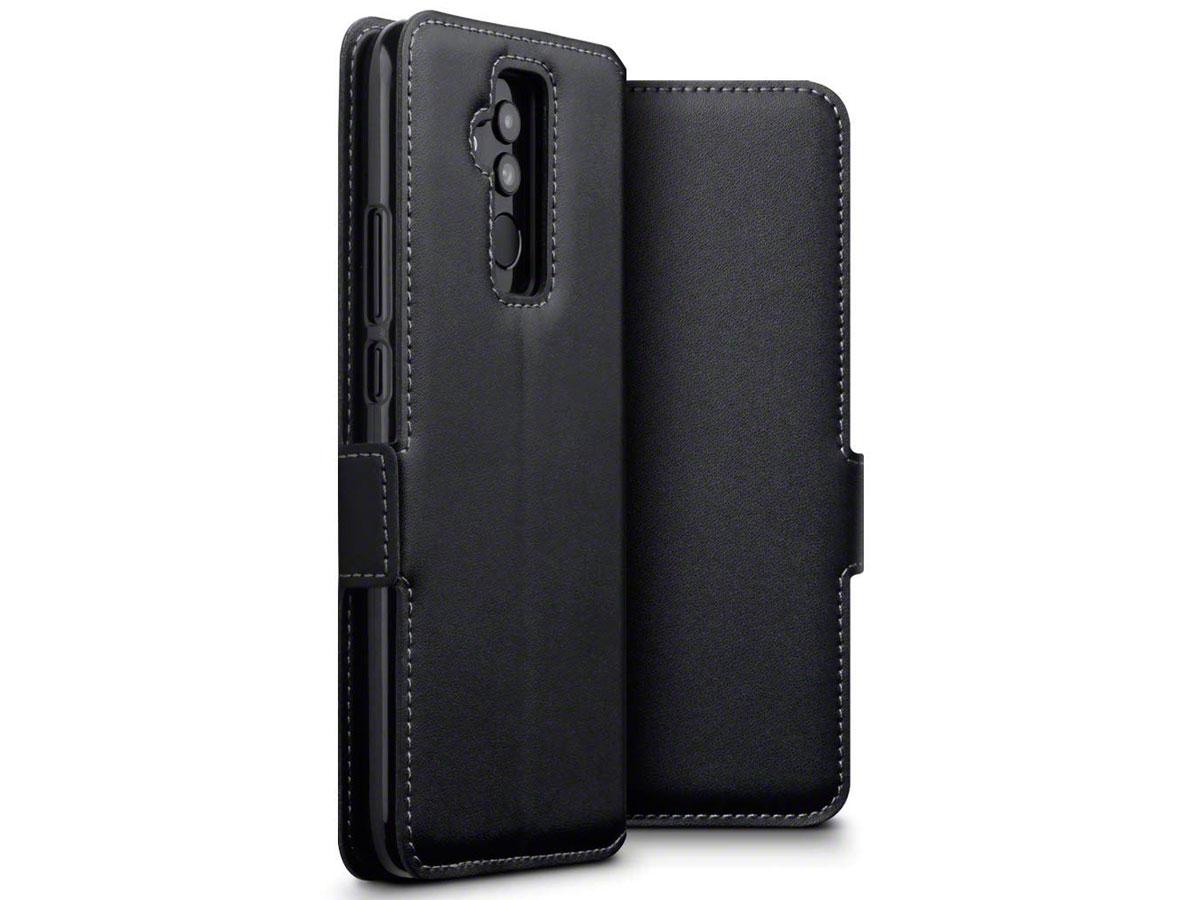 CaseBoutique Wallet Leer - Huawei Mate 20 Lite hoesje Zwart