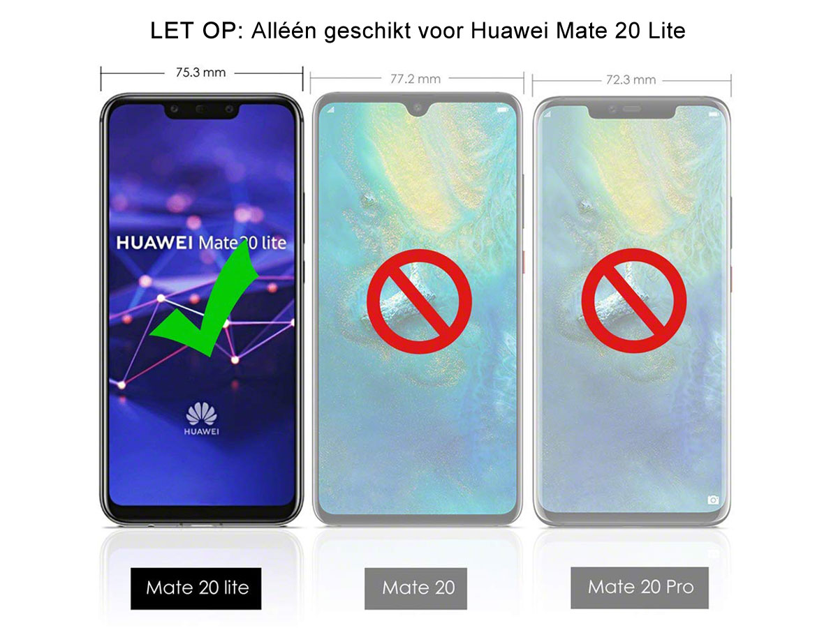 CaseBoutique Carbon TPU Case - Huawei Mate 20 Lite Skin