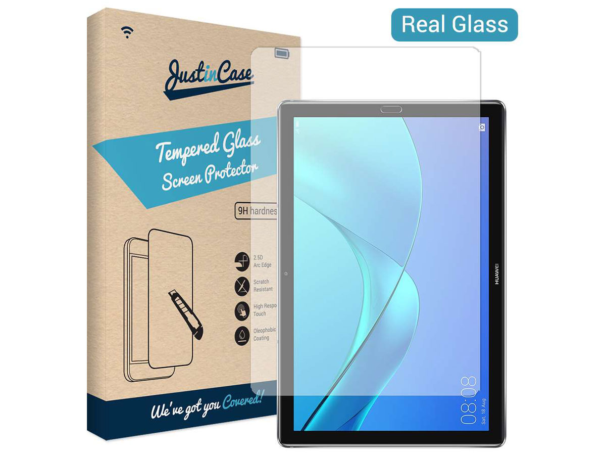 Huawei Mediapad M5 10.8 Screen Protector Tempered Glass Transparant