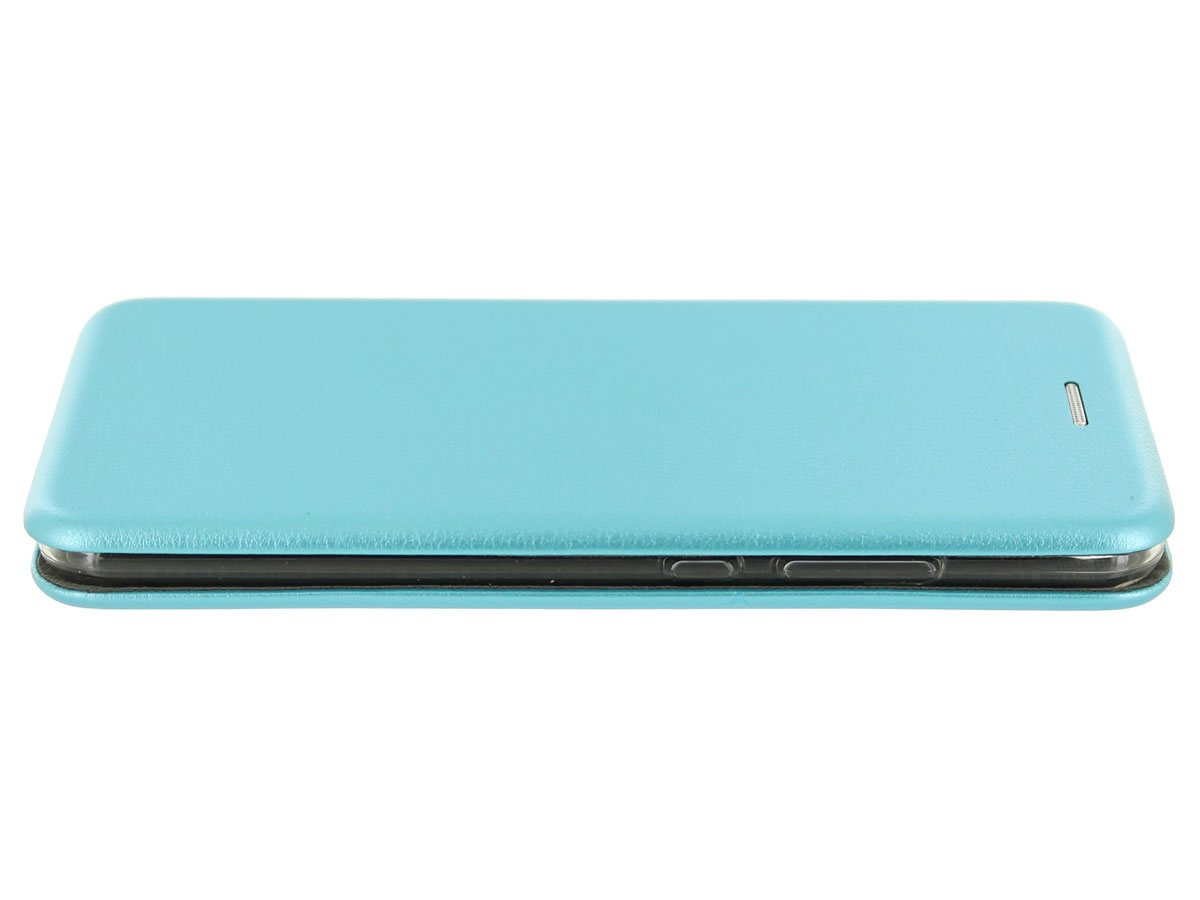Elegance Bookcase Turquoise - Huawei P10 hoesje