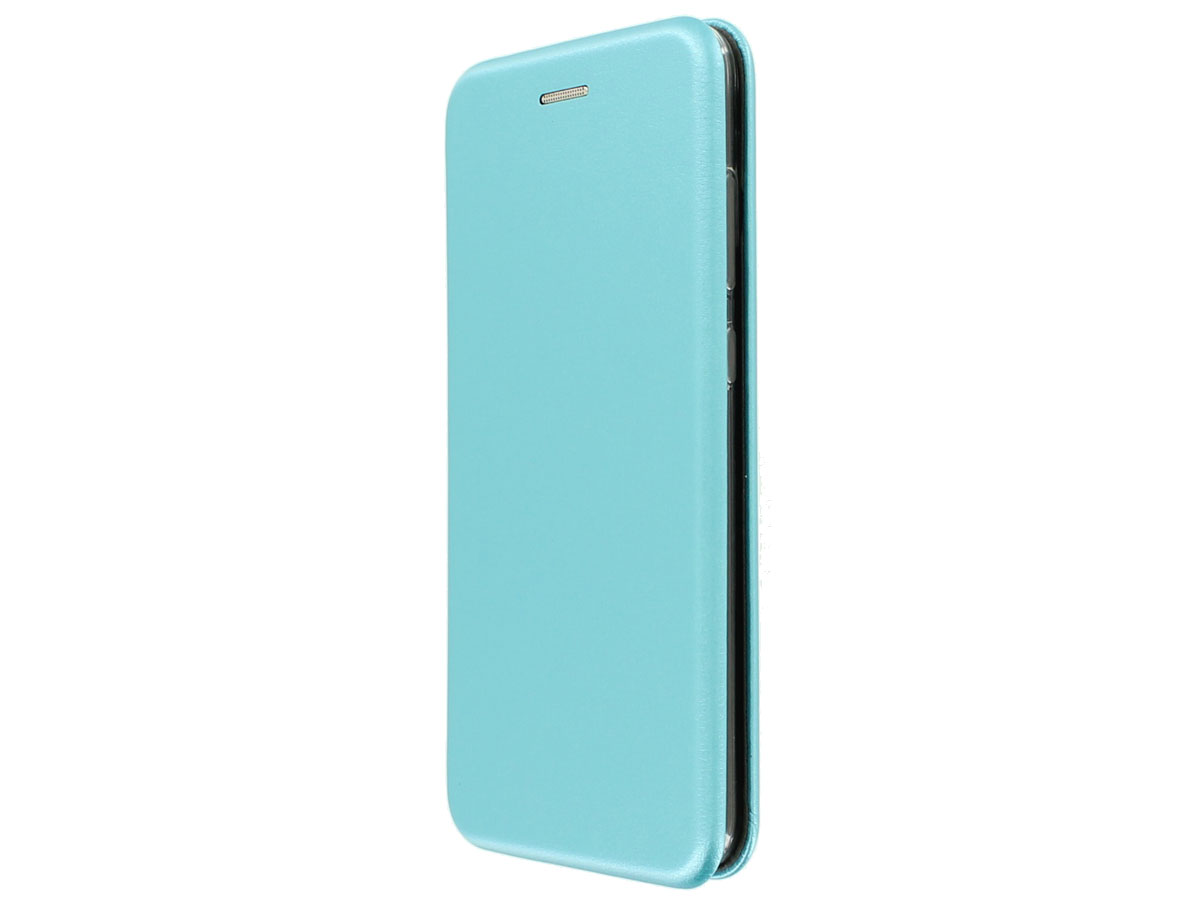 Elegance Bookcase Turquoise - Huawei P10 Lite hoesje