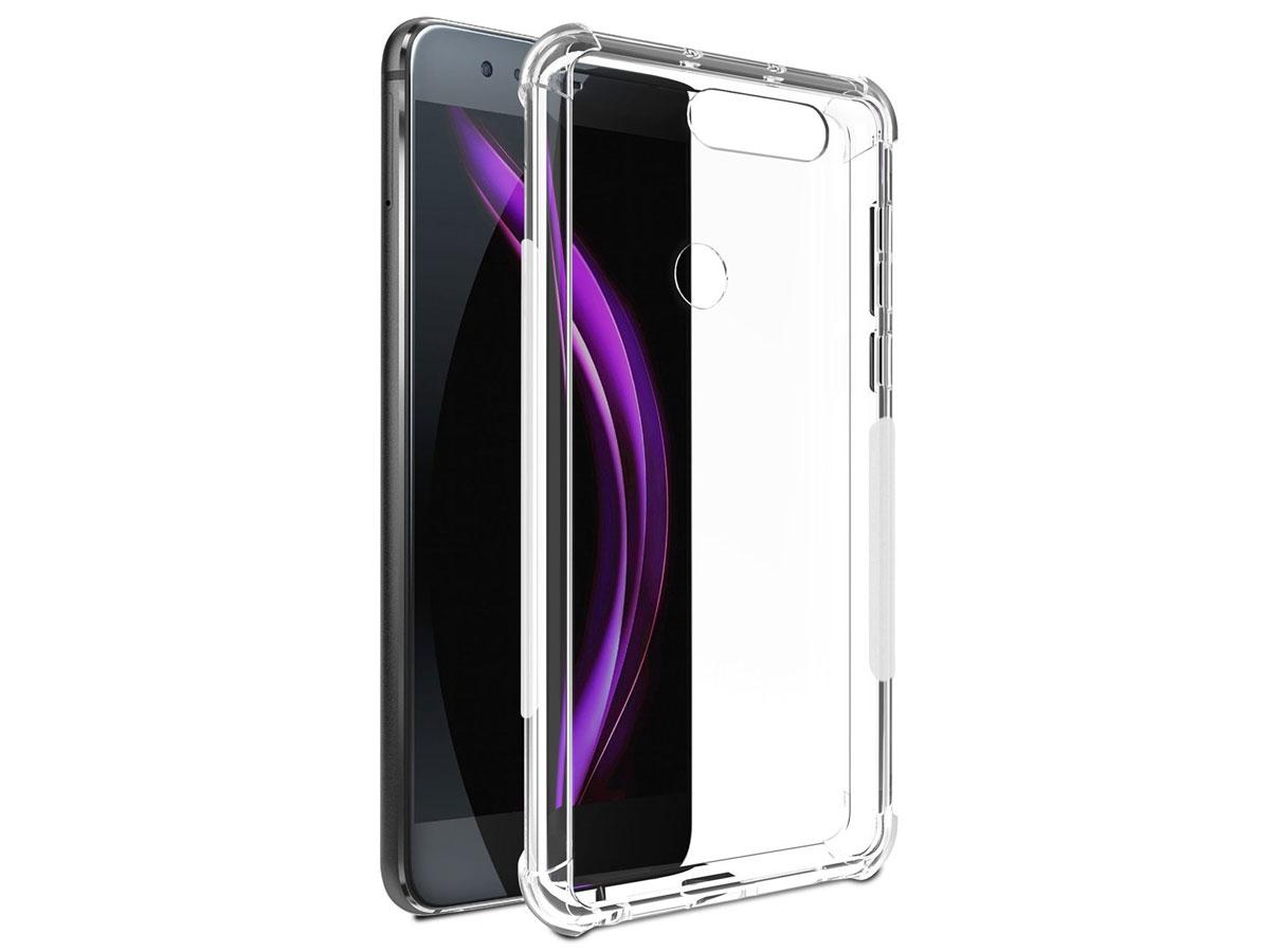 Huawei P10 Lite hoesje - Anti-Shock Crytal TPU Case Transparant