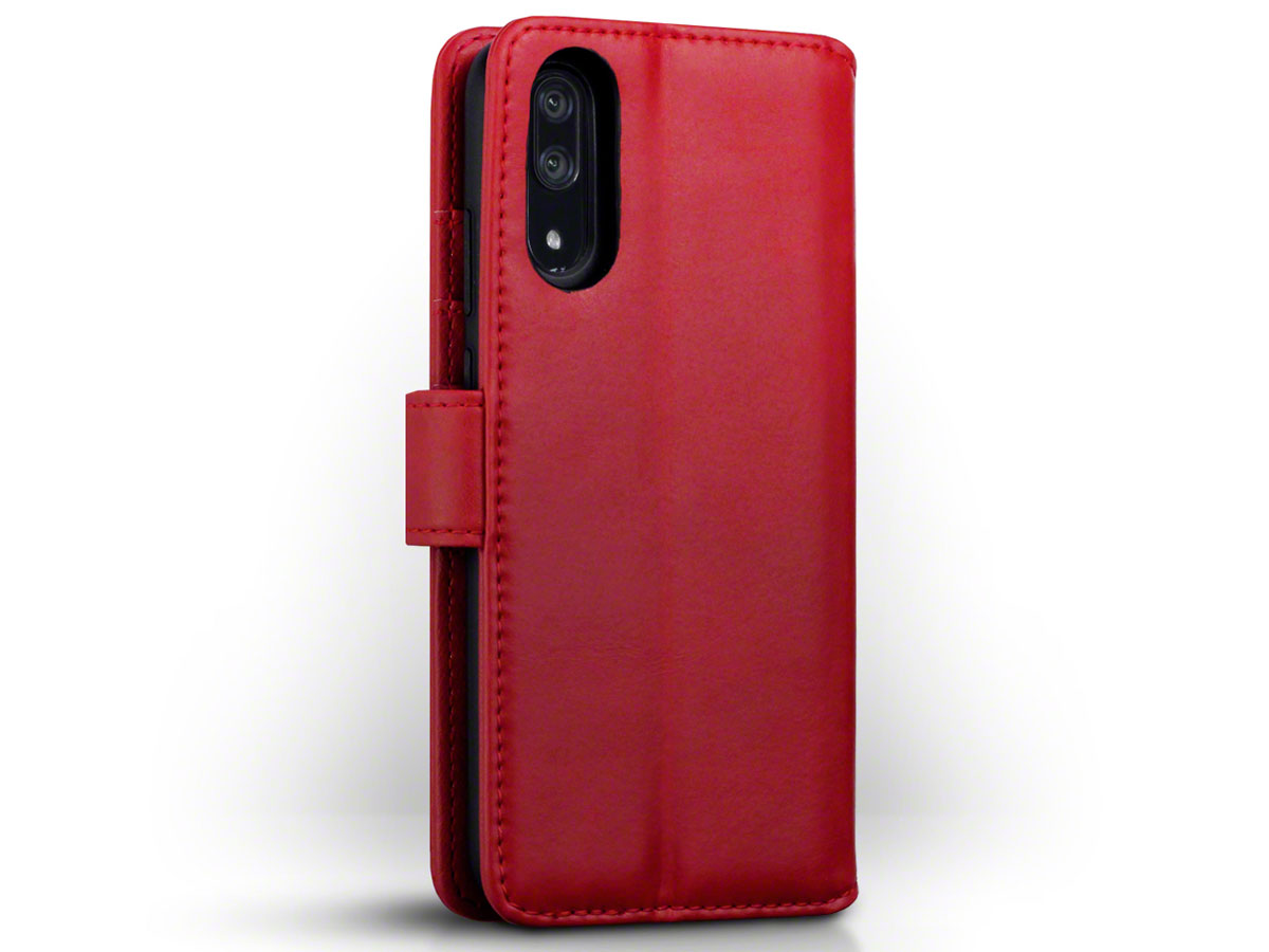 CaseBoutique Leather Case Rood - Huawei P20 Hoesje