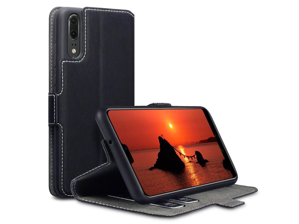 CaseBoutique UltraSlim Wallet - Huawei P20 hoesje Zwart