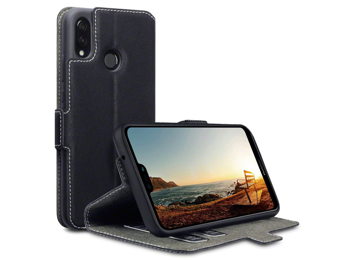 CaseBoutique UltraSlim Wallet - Huawei P20 Lite hoesje Zwart
