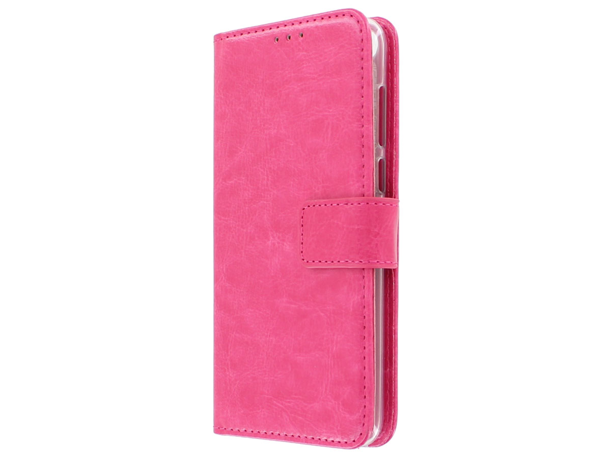 Bookcase Wallet Roze - Huawei P Smart hoesje
