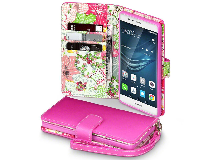 CaseBoutique Lily Bookcase - Huawei P9 hoesje