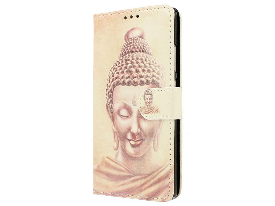 Boeddha Bookcase - Huawei P9 Hoesje Goud