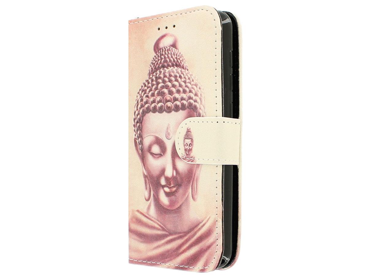 Boeddha Bookcase - Huawei Y3 II (Pro) hoesje Goud