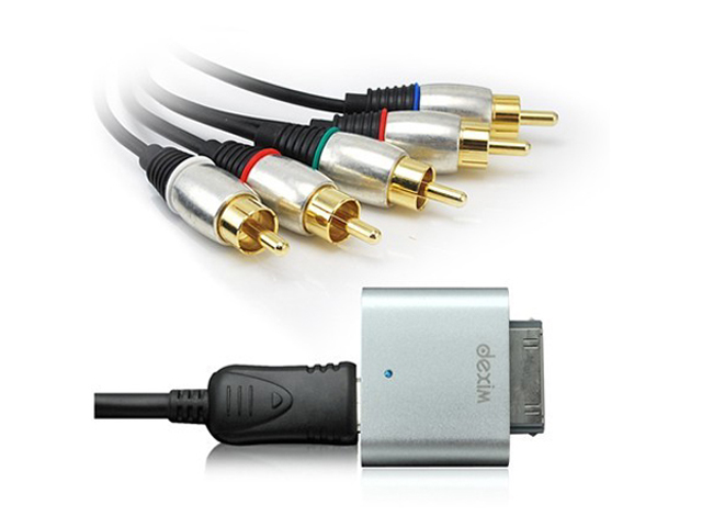 Dexim Premium HD AV Kabel voor iPod, iPhone, iPad