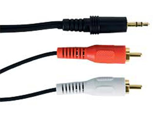 3,5mm RCA Tulp Stereo Connect Kabel