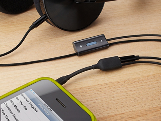 Belkin Headphone Adapter met Mic: iPod/iPhone/iPad