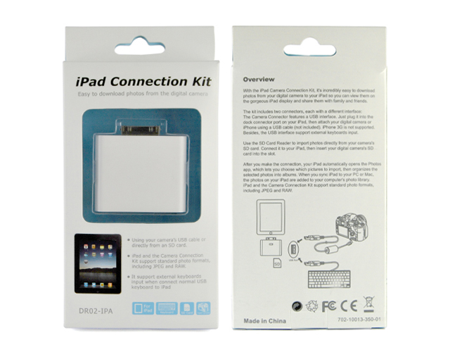 2-in-1 Camera Connection Kit voor iPad