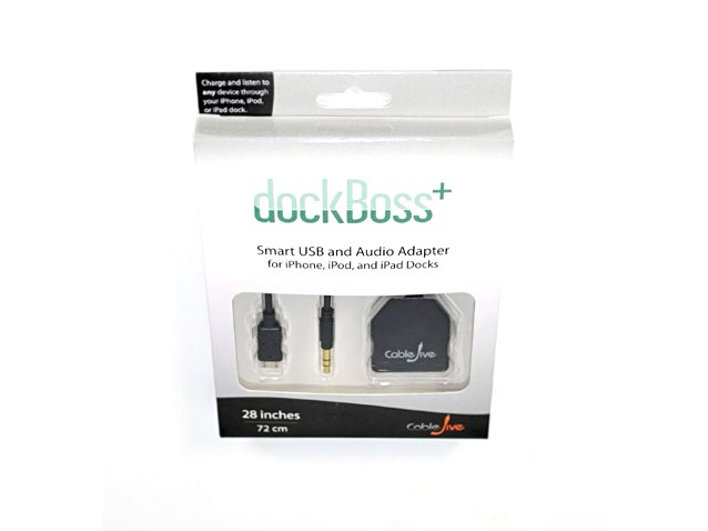 CableJive dockBoss+ Micro-USB en 3,5mm Audio Input Adapter