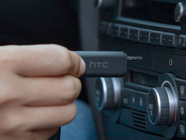 HTC Bluetooth Stereoclip Bluetooth 3,5mm AUX Adapter (CAR-A200)