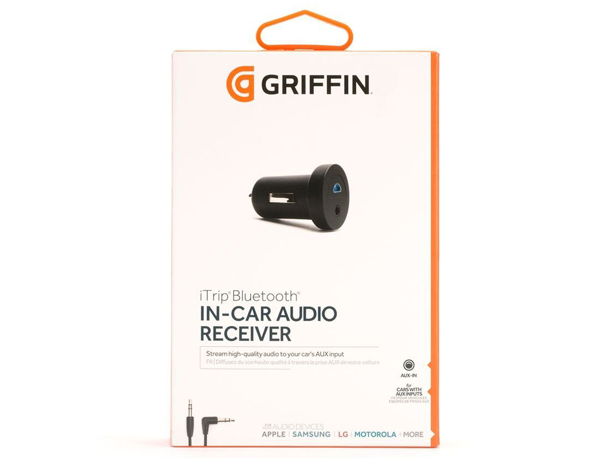Griffin iTrip Bluetooth - 12V Aux Bluetooth Receiver