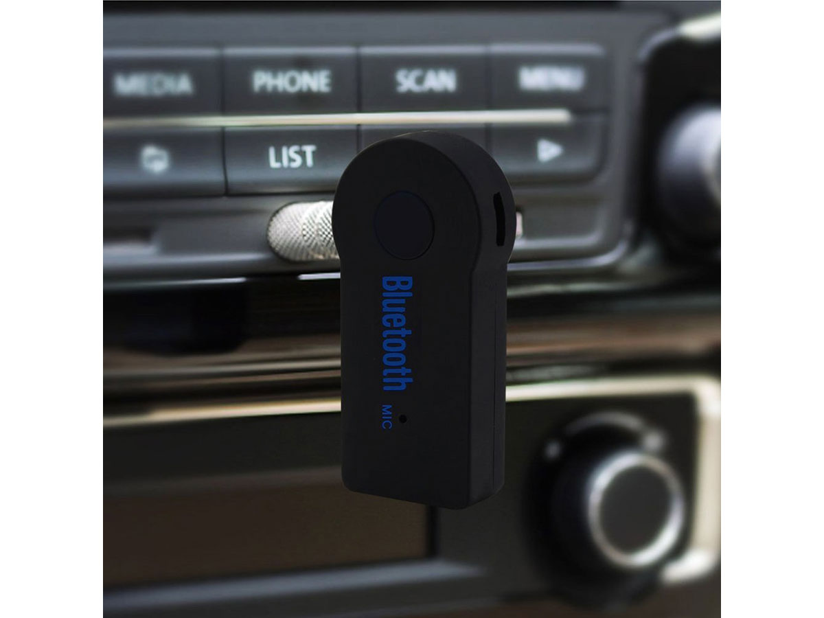 Bluetooth 3,5mm Adapter voor Koptelefoon of Autoradio