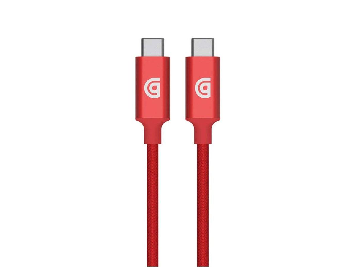 Griffin Premium USB-C naar USB-C kabel - 180cm - Rood