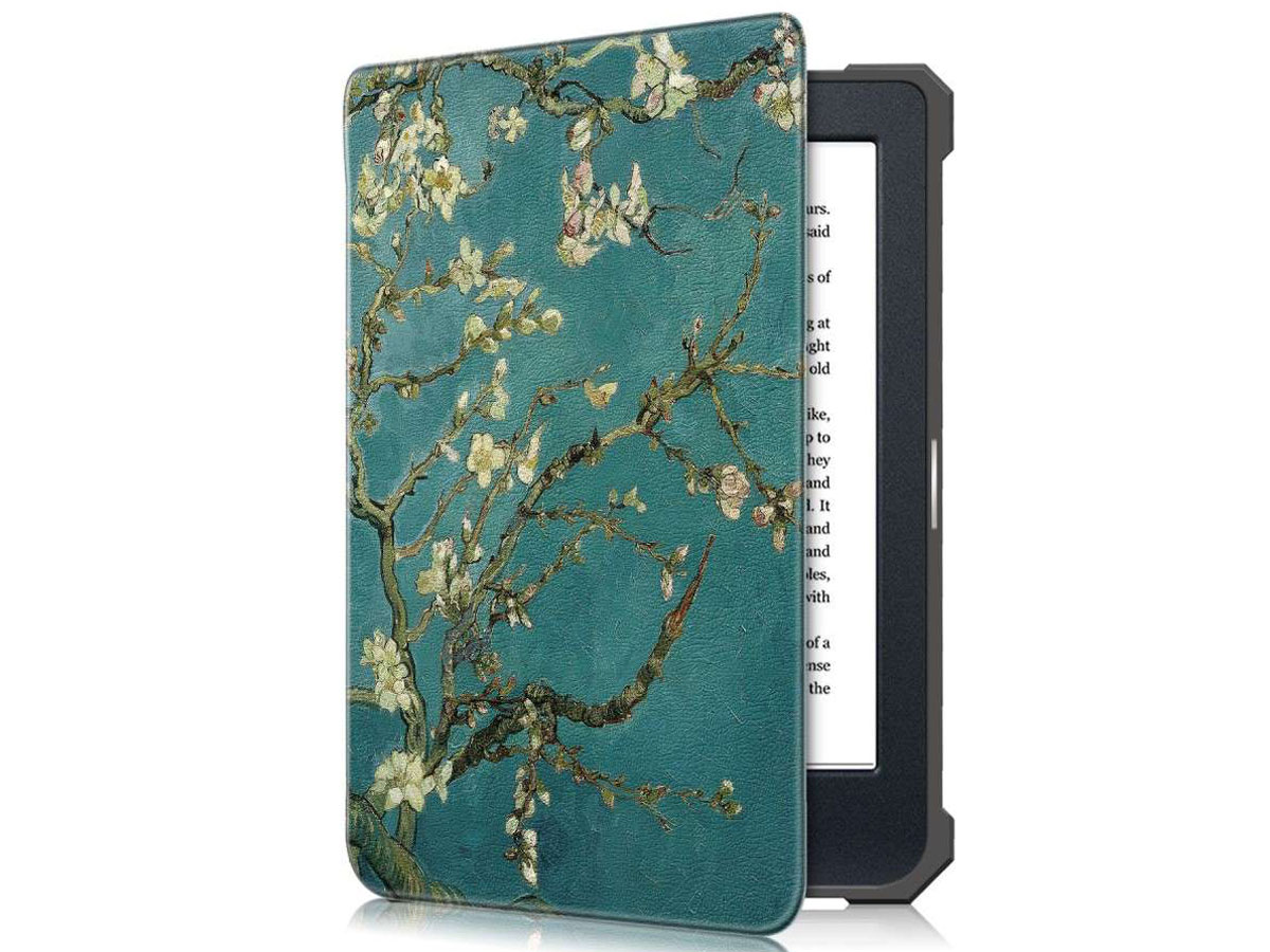 Just in Case Smart Cover Floral - Kobo Nia Hoesje Bloemen Print