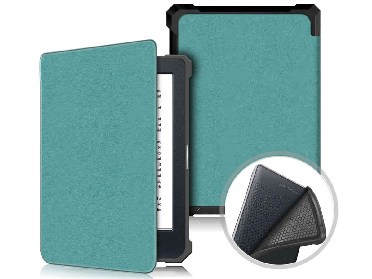 Just in Case Smart Cover Groen - Kobo Nia Hoesje