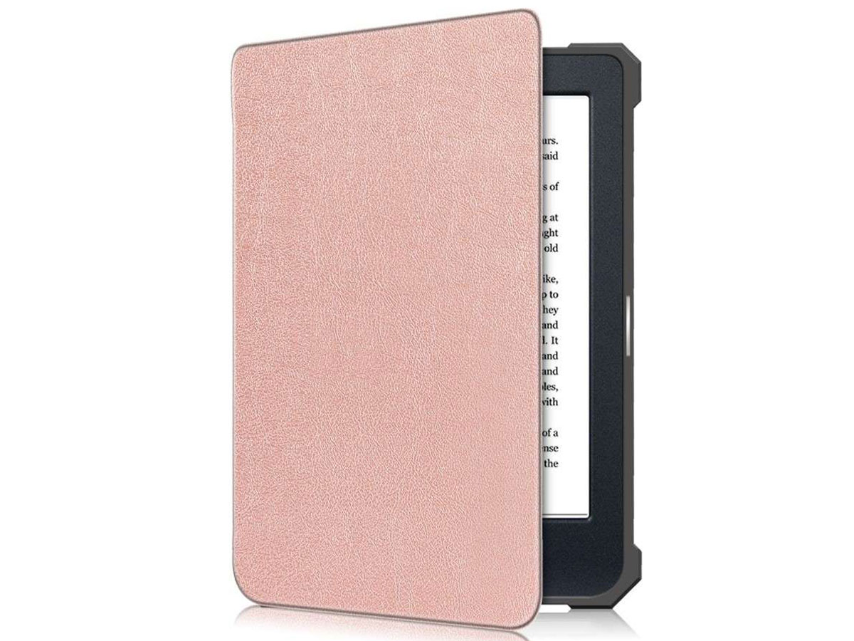 Just in Case Smart Cover Roze - Kobo Nia Hoesje