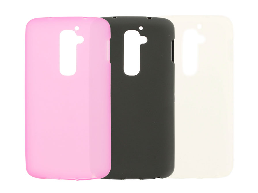 Frosted TPU Case Hoesje voor LG G2