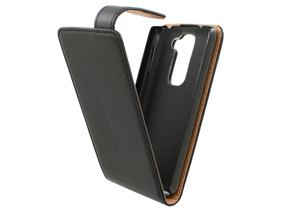 Classic Leather Flip Case - LG G2 Mini hoesje