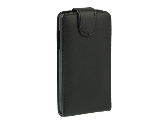 Business Leather Flip Case voor LG Optimus 4X HD (P880)