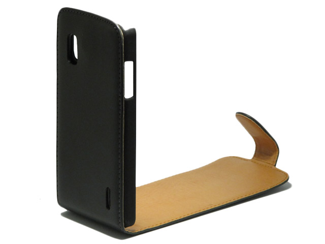 Classic Leather Case voor LG Optimus G