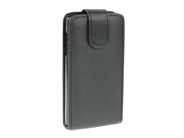 Business Leather Flip Case voor LG Optimus L5 (E610)