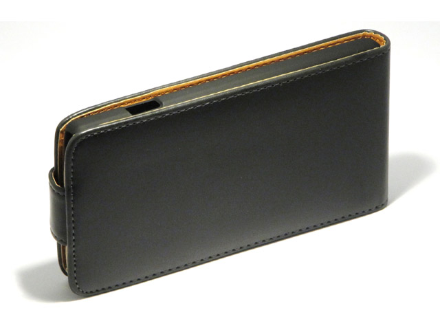 Classic Leather Flip Case voor LG Optimus L9 (P760)