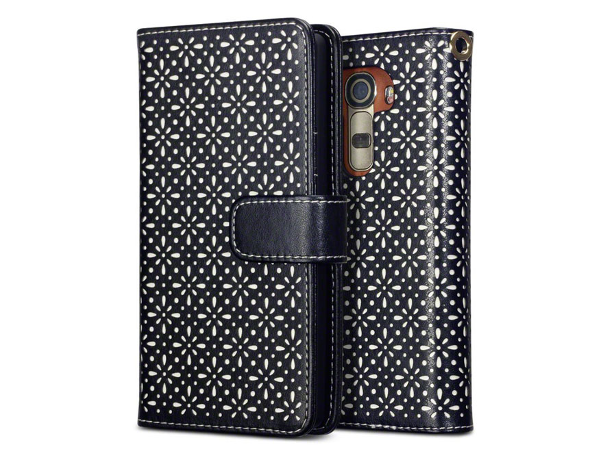CaseBoutique Gracey Wallet Case - LG G4 Hoesje