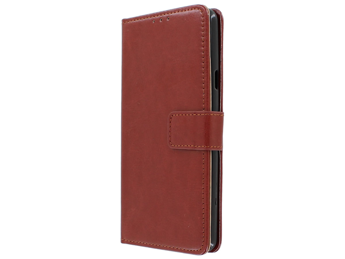 Bookcase Wallet Bruin - LG G7 ThinQ hoesje