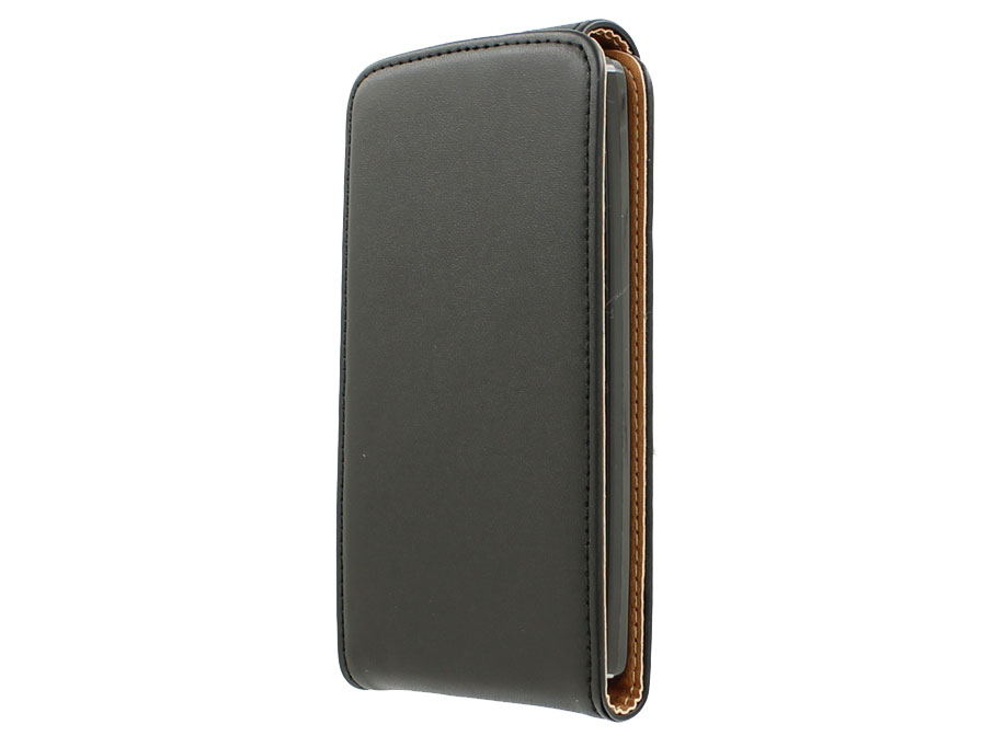 Classic Leather Flip Case - LG L Fino hoesje