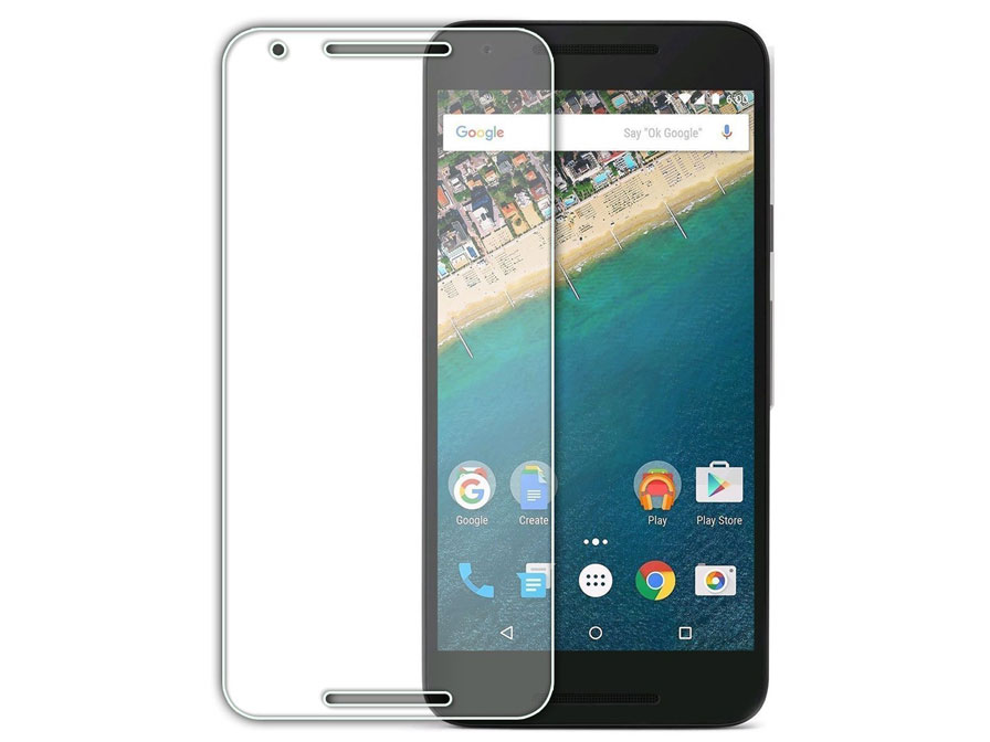 LG Nexus 5X Screenprotector Tempered Glass