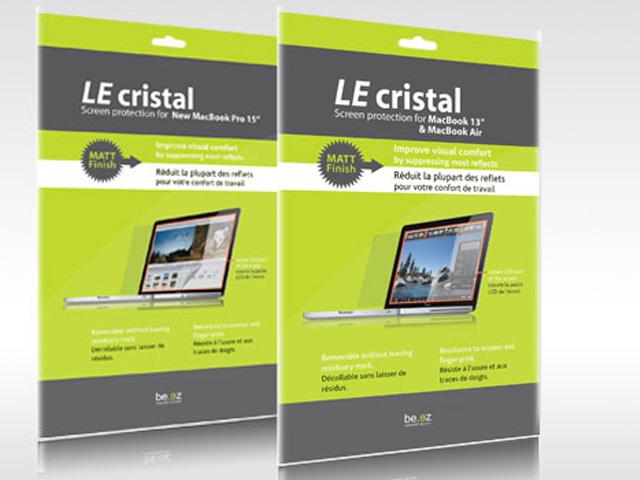 Be.ez LEcristal 15 inch Matte Anti-Glare Screenprotector