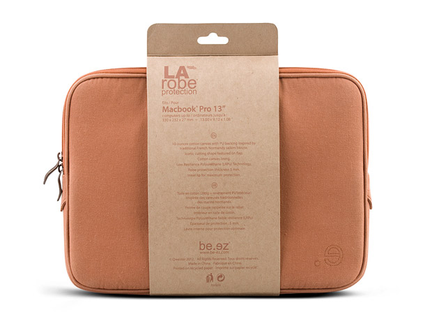 be.ez LA Robe Littoral Series - Sleeve voor MacBook Pro (15 inch)