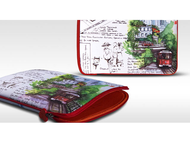 be.ez La Robe China Scenes Sleeve - MacBook Air & Pro Retina (13 inch)