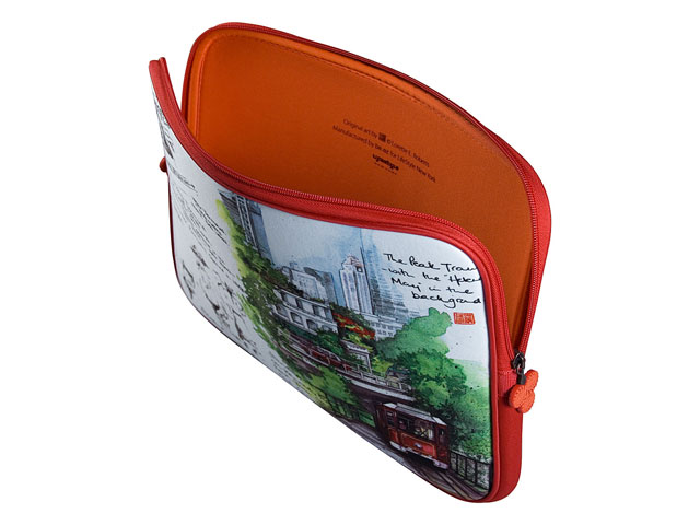 be.ez La Robe China Scenes - Sleeve voor MacBook Pro (15 inch)