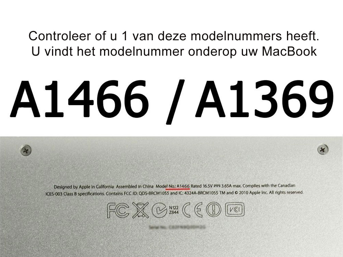 be-ez LA Robe Dark Mix-Grey - MacBook Air 13