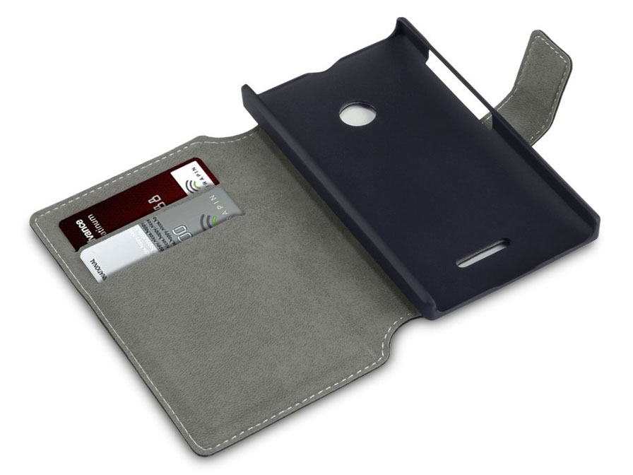 Covert UltraSlim Book Case - Hoesje voor Microsoft Lumia 435